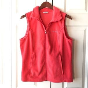 Columbia Fleece Vest -M